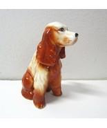 "Vintage Ceramic  Cocker Spaniel Figurine -Reddish Brown/Blonde - 3.5"" Tall - $8.99"