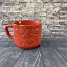 Starbucks Red Hearts Valentines Ceramic Mug 12oz Limited Edition - $52.46