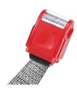 Code Stamp Roller ID Identity Theft Protection Self Ink Information Prot... - $6.92