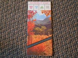 Old Vintage 1956 UTAH Souvenir Travel Highway Map Pictures Fold Out Fram... - $9.99
