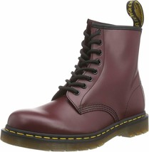 Womens Dr. Martens 1460 Original 8-Eye Leather Boot - Cherry Red, Size 11 - $164.99