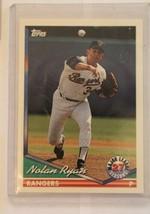 1994 Topps Nolan Ryan #34 VCG HOF  - $24.75