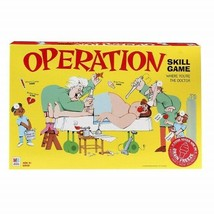Operation Electronic Board Game with Cards, Children's Skills Game Ages ... - $46.34
