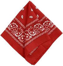 """12 Pack Premium Cotton Head Wrap Scarf Bandana Multiple Colors 22"""" X 22"""" image 11"""