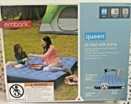 Embark Queen Air Bed Mattress w/ Electric Pump 8.5in-height Camping Inflatable image 4
