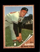 1962 Topps #483 Don Mcmahon Ex Braves *XR22301 - $5.00