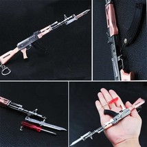 Metal Gun Model Keychain Bag Pendant AK-47 - $7.70