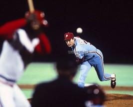 MLB Philadelphia Phillies Steve Carlton on the Mound Game Action 8 X 10 Photo  - $5.99