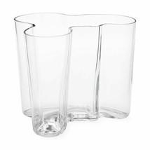1 (One) iITTALA ALVAR AALTO LARGE Crystal Vase Made in Finland - SIGNED - $180.49