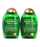 2 Bottles OGX 13 Oz Strength & Body Bamboo Fiber Full Soy Proteins Shampoo - $24.99