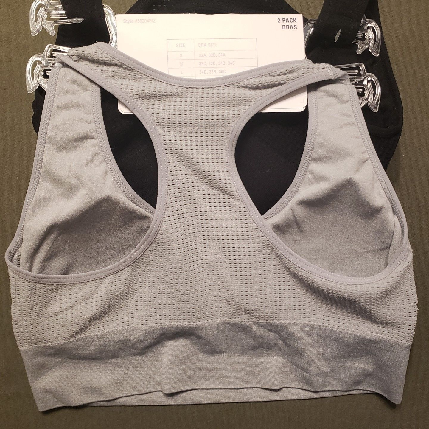 99c5e22032a0d IZOD Sports 2 Pack Seamless Comfort Bras and 50 similar items