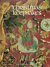 "Hard Covered Book - ""Christmas Keepsakes"" - Leisure Arts - Gently Used - $18.00"