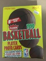 1990-91 Fleer NBA Basketball Unopened Wax Box From Sealed Case 36 Packs - $22.74