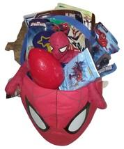 Marvel Spider man Jumbo Plush Treat Basket New  - $24.99