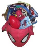 Marvel Spider man Jumbo Plush Gift Basket Filled w/Toys, Games For Boys ... - $58.00
