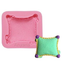 Anyana 3D Pillow cushion mould cake Fondant gum paste mold for Sugar pas... - ₨700.40 INR
