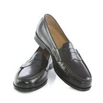 Cole Haan Grand OS Pinch Dark Burgundy Leather Penny Loafers Shoes Mens ... - $59.31