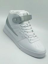 Men's Fila Vulc 13 Mid Plus White | Silver Fashion Sneakers  - $69.00