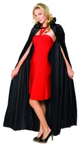 Rubies Long Crushed Velvet Cape Adult Womens Halloween Costume 16207 - $14.40