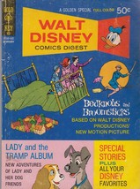 WALT DISNEY COMICS DIGEST #33 Bedknobs & Broomsticks (1972) Gold Key Com... - $9.89