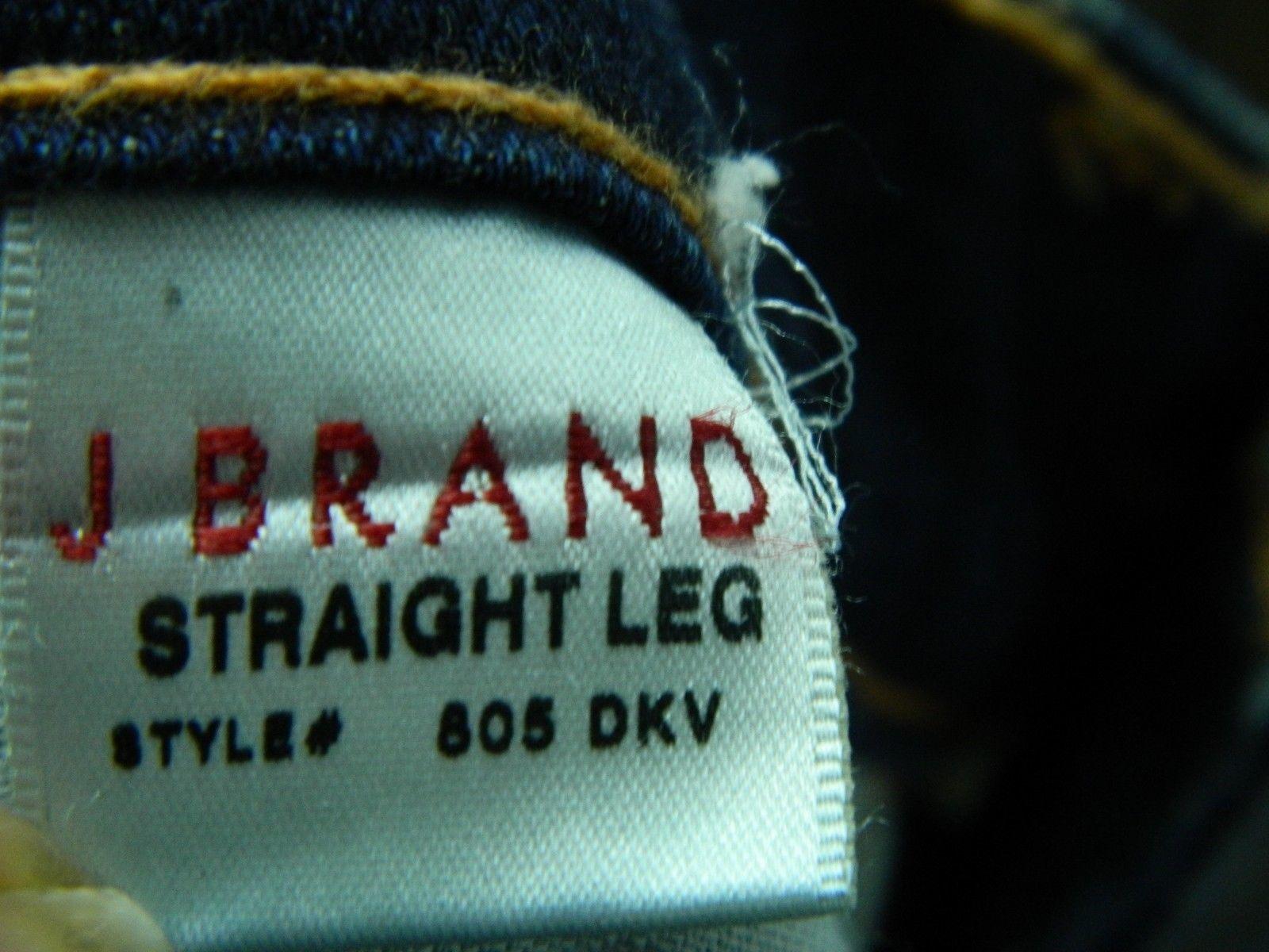 J Brand Jeans Straight Leg Jeans  Dark Wash Style #805 Size 25 image 10