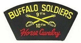 ARMY BUFFALO SOLDIERS 9TH 10TH CAVALRY  PATCH - $15.33
