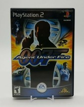 James Bond 007 in Agent Under Fire (Sony PlayStation 2 PS2 2002) Black L... - $14.73