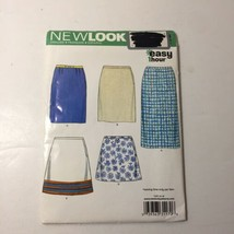 New Look 6758 Size 8-18 Misses' Skirts One Hour Easy - $11.64