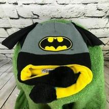 Batman DC Comics Flipeeze Boys One Sz Hat Black Gray Batwing Beanie Wint... - $14.84
