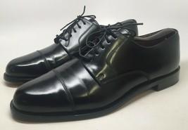 """Cole Haan """"City"""" Men's Black Leather Cap Toe Oxfords Size 10D #813368-04 - $64.30"""