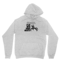 Falconry, I Play With Sharp Objects Shirt Funny Birds Of Prey Unisex Grey Hoodie - $24.95+