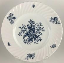 Royal Worcester Blue Sprays Salad plate  - $7.00