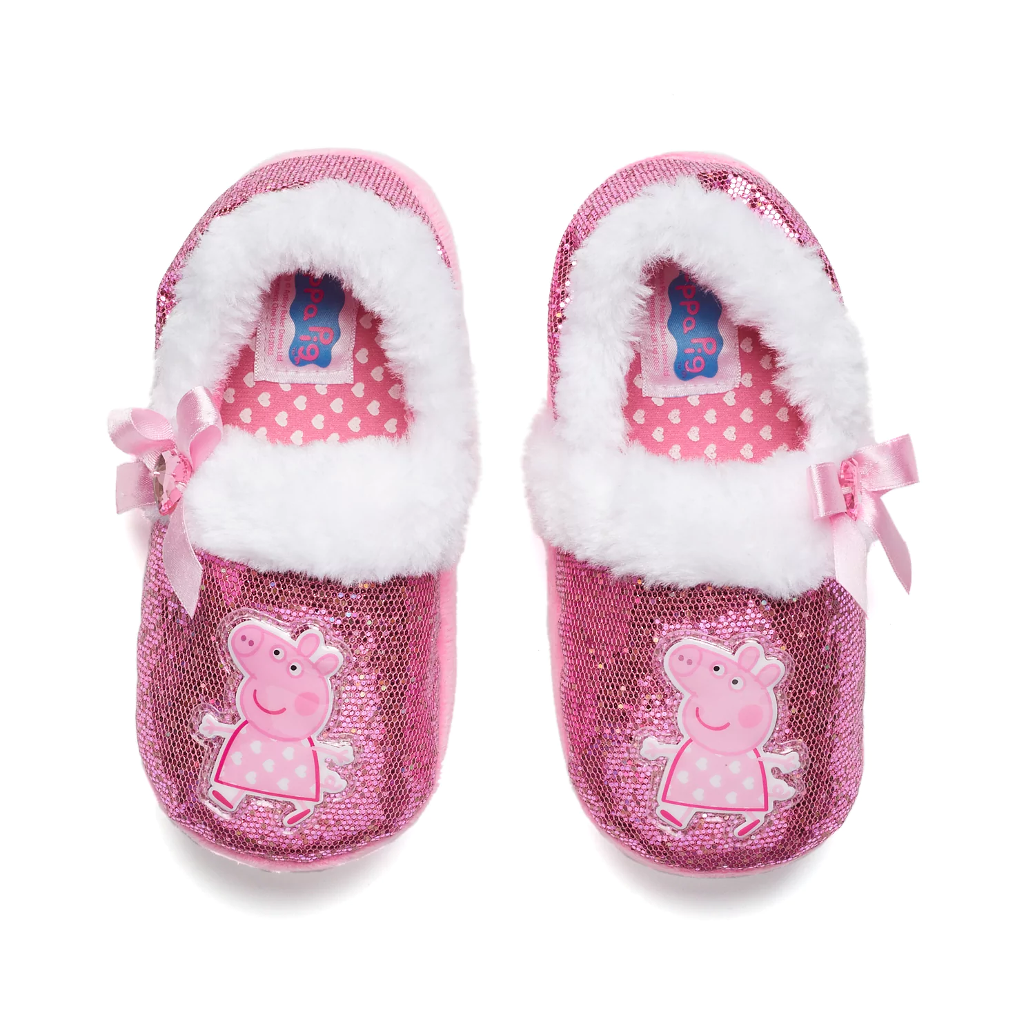NEW NWT Peppa Pig Slippers Baby Toddler Size 5/6 7/8 9/10 11/12 S M L XL
