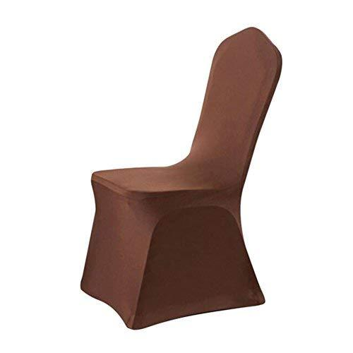 George Jimmy Elastic Chair Cover Conjoined Thicken Wedding Party Chair Decor-Cof - $18.46