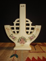 Weller Roma Triple Bud Vase Arts & Crafts Mission Style Circa 1920's - $148.01