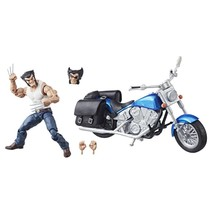 "Marvel Legends Wolverine w Motorcycle Action Figure 6"" SD Convention NIB... - $49.95"