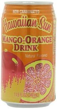 Hawaiian Sun Drink, Mango-Orange, 11.5-Ounce (Pack of 24) by Seasia - $58.95
