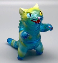 """Max Toy """"Blue Jelly"""" Clear Blue Negora Rare image 1"""