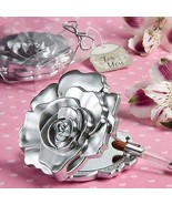 84 Realistic Rose Floral Design Mirror Wedding Party Gift Favor Cosmetic... - $77.50