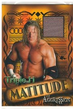 """2003 Fleer WWE """"Triple H"""" Matitude Card W/Event-Used Ring Mat (Mint) {4038} - $9.89"""