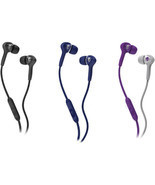 New Skullcandy Smokin Buds Equipped with Supreme Sound with Mic + Travel... - $14.97
