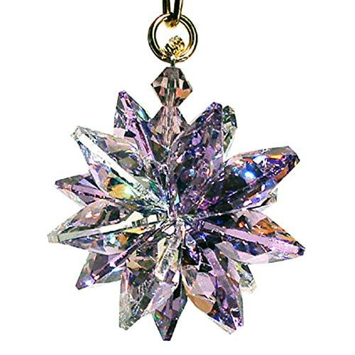 J'Leen AB and Violet Small Suncluster with Austrian Crystal