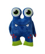 """MONSTER Blue With BIG eyes Plush Pillow Stuffed Animal Toy 16"""" - $12.04"""