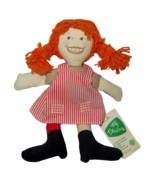 Pippi Longstocking Doll Fifi Brindacier Tele Poupees Canada CBC 1970s Cl... - $82.77