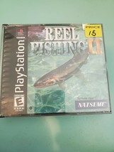 Reel Fishing II 2 (Sony PlayStation 1 PS1, 2000) Complete, Works and shi... - $8.90