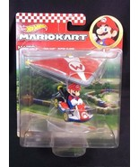 Hot Wheels Mariokart diecast MARIO Standard Kart SUPER GLIDER NEW - $13.96
