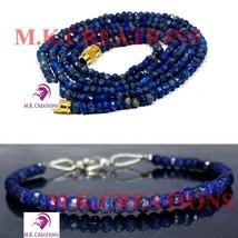 "Mystic black spinel 3-4mm Beads Beaded 18"" Necklace 7"" Bracelet Jewelry Set - $20.34"