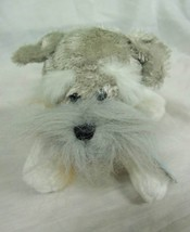 "Ganz SOFT SCHNAUZER PUPPY DOG 8"" Plush STUFFED ANIMAL Toy NEW Webkinz - $15.35"