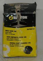Raptor RAPHS218 Heavy Duty 2 1/8 Inch Hole Saw Bi Metal Edge image 4