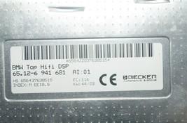 BMW 745 750 E65 E66 Logic7 Top Hifi DSP Amplifier Amp 65.12-6941681 BECKER image 2
